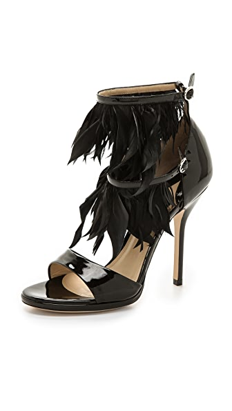 Paul Andrew Amazon Feathered Heels