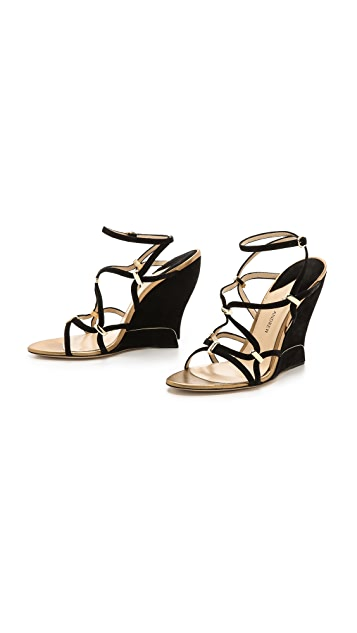 Paul Andrew Trelissia Wedge Sandals