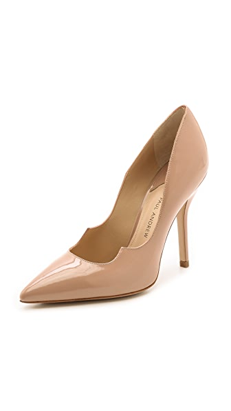 Paul Andrew Zenadia Pumps - Nude