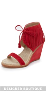 Shantou Wedge Sandals                Paul Andrew