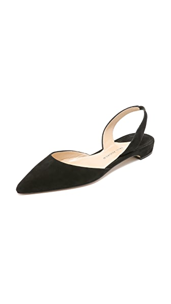 Paul Andrew Rhea Suede Flats at Shopbop