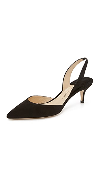 Paul Andrew Rhea Slingback Pumps - Black