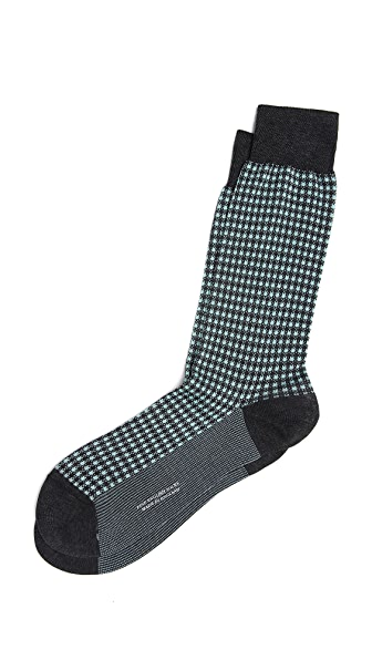 Pantherella Gingham Socks