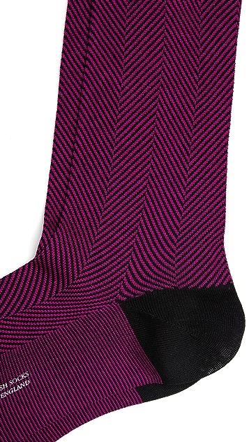 Pantherella Herringbone Socks