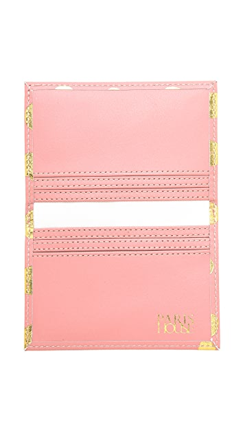 Paris House Hello Card Case