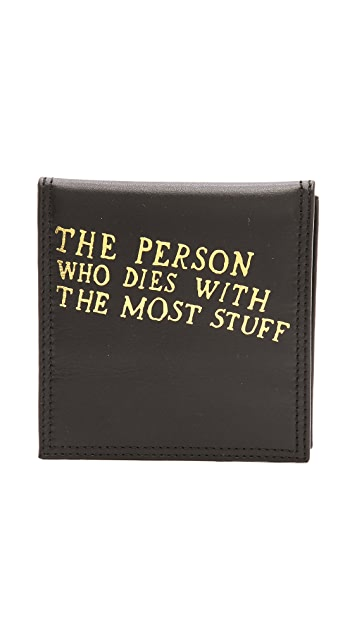 Paris House Person with the Most Stuff Wins Wallet