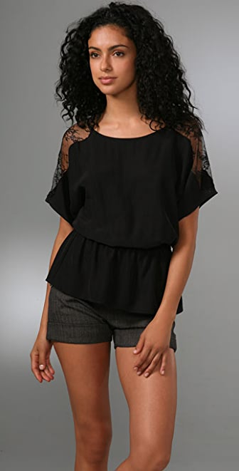Parker Lace Back Blouse