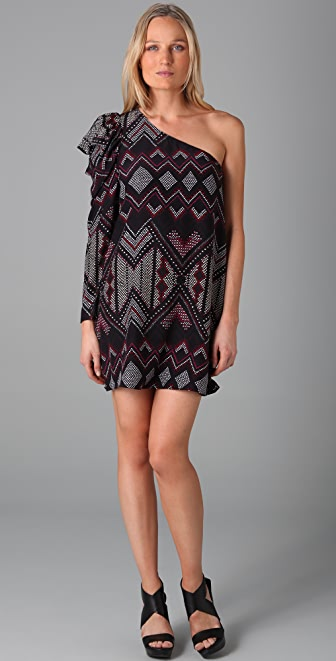 Parker One Shoulder Dress