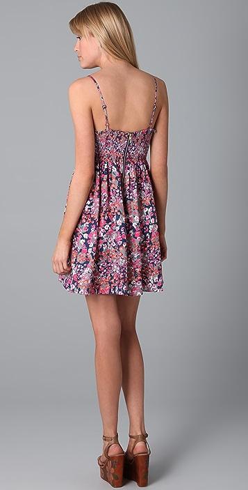 Parker Print Baby Doll Dress