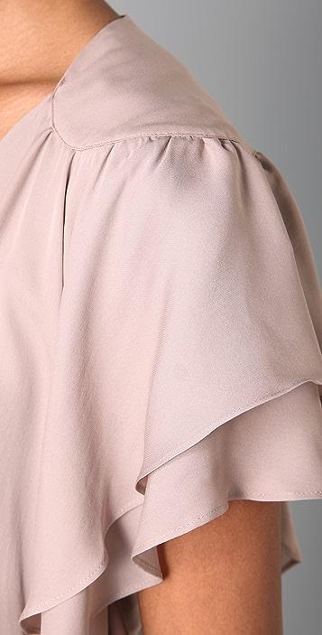 Parker Flowy Wrap Dress