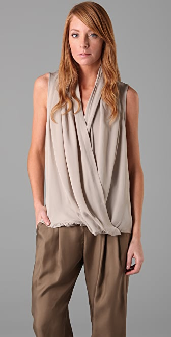 Parker Draped Front Top
