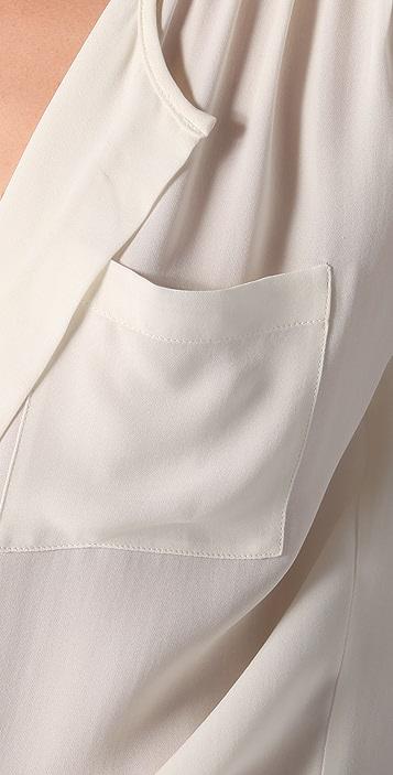 Parker Tab Shoulder Top