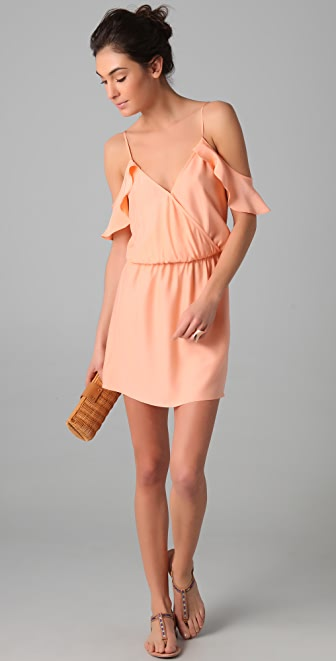 Parker Ruffle Side Dress