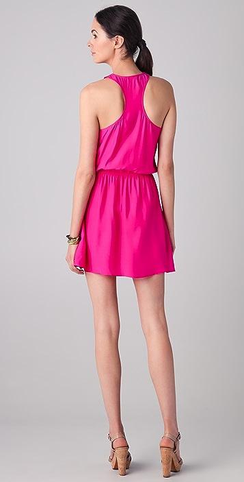 Parker Lapel Wrap Dress