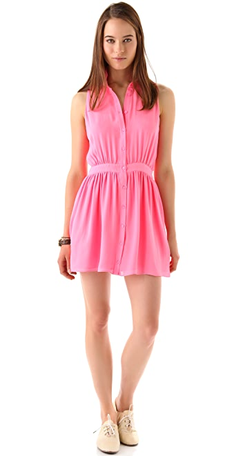 Parker Sleeveless Shirtdress