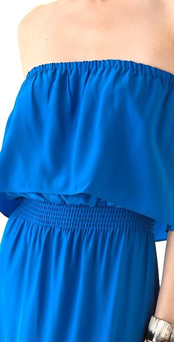 Parker Strapless Hi-Lo Dress