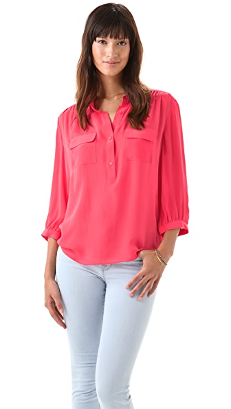 Parker Pocket Blouse