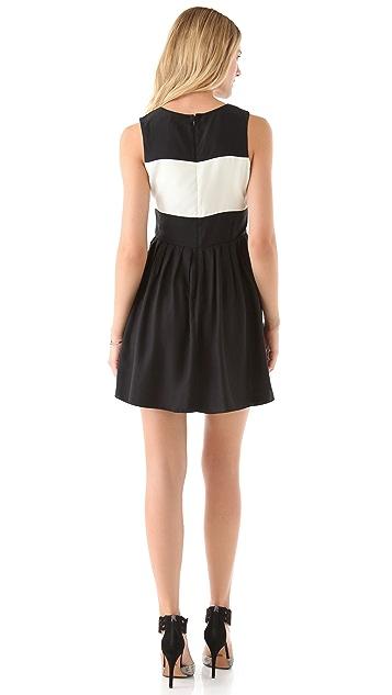 Parker Sheer Block Dress
