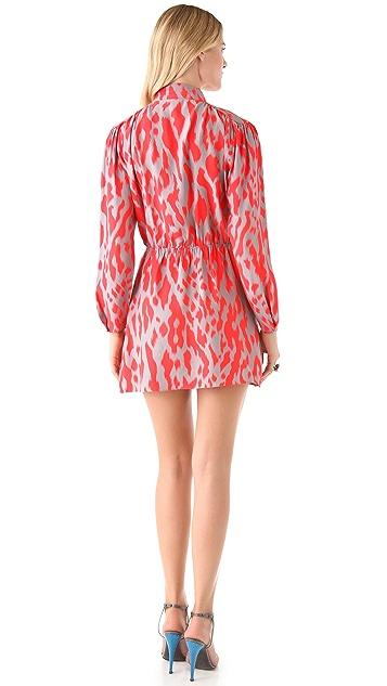 Parker Quilted Shoulder Dress