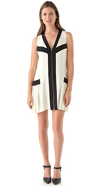 Parker Side Pleat Dress