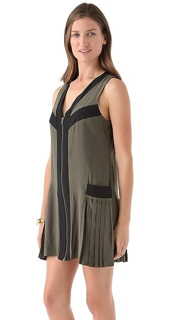 Parker Side Pleat Dress