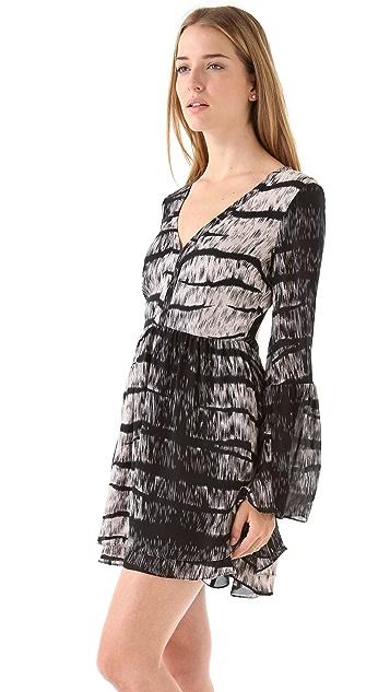 Parker Flare Open Back Dress