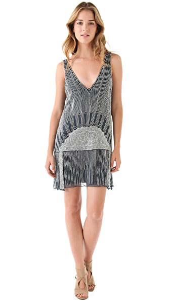 Parker Beaded Flapper Dress