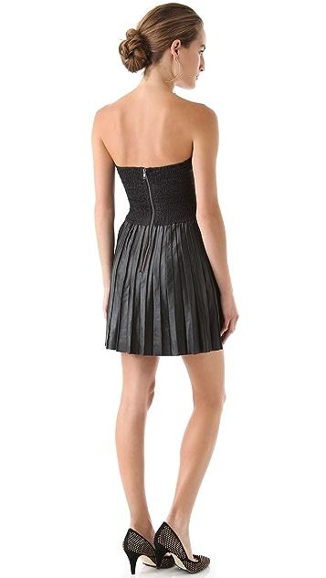 Parker Leather Dress
