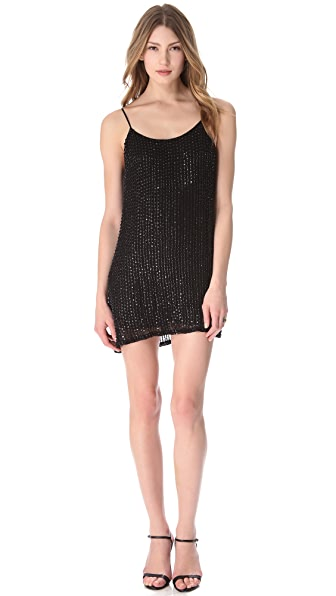 Parker Glass Beaded Dress