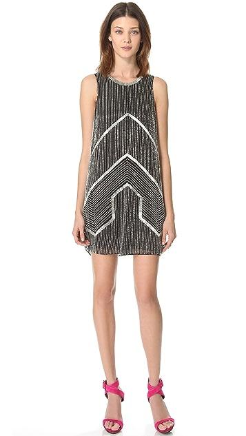 Parker Architect Beaded Dress