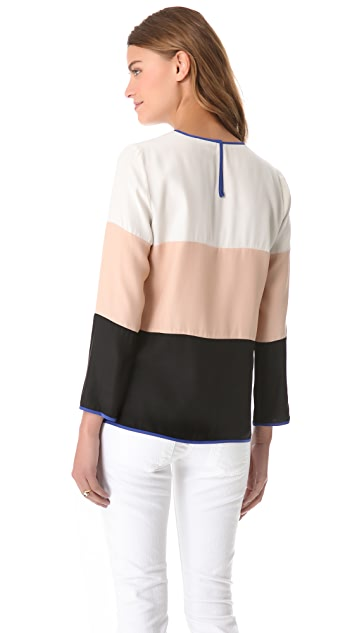 Parker Wide Stripe Top
