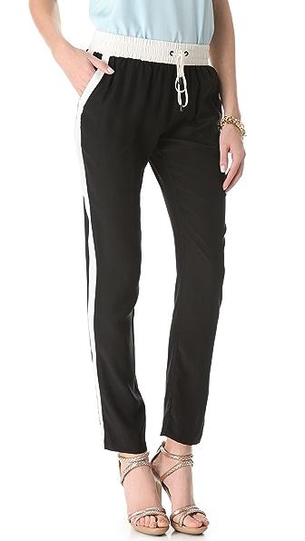 Parker Silk Track Pants