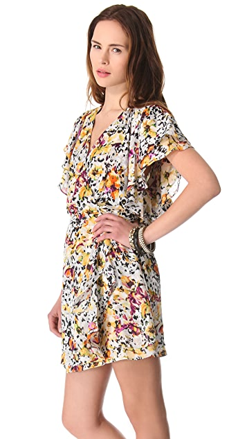 Parker Flowy Wrap Dress