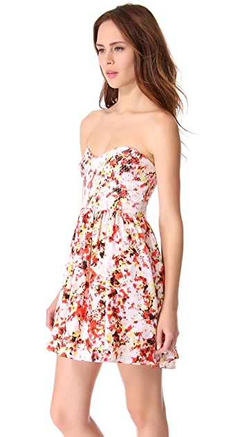 Parker Jenna Strapless Dress