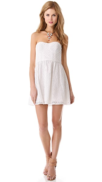 Parker London Strapless Dress