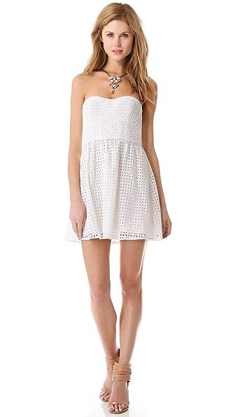 Parker London Strapless Dress