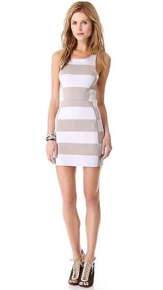 Parker Leigha Combo Knit Dress