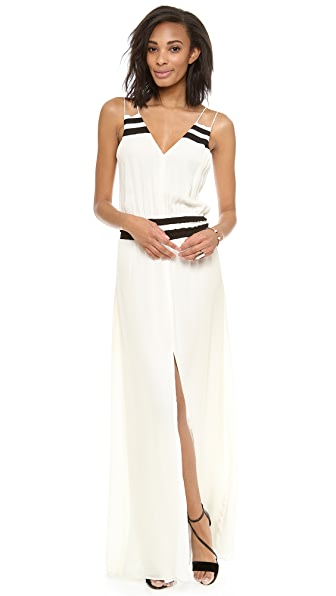Parker Adelaide Combo Maxi Dress