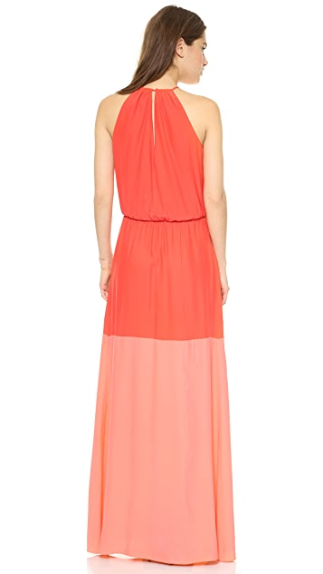 Parker Avalon Combo Maxi Dress