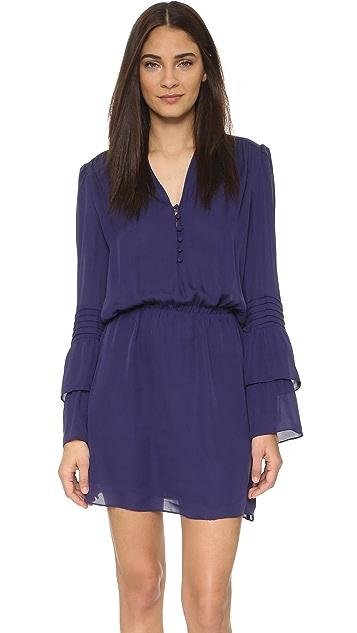 Parker Double Flare Sleeve Dress
