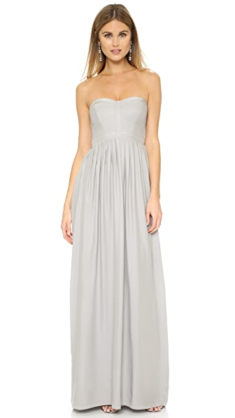 Parker Parker Black Bayou Gown - Grey