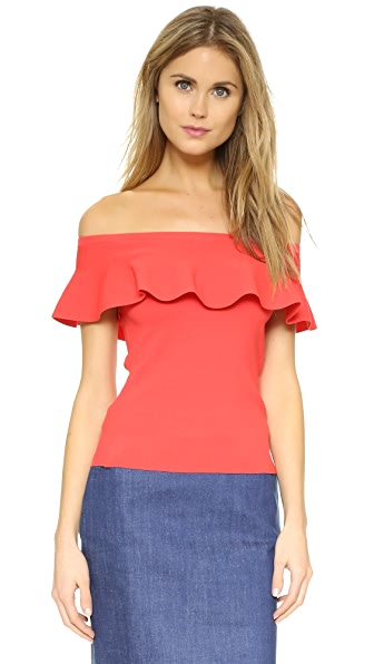 Parker Albany Ruffle Top