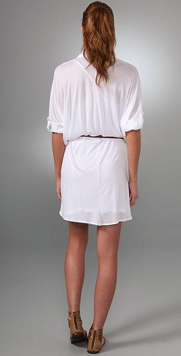 PJK Patterson J. Kincaid Fern Belted Dress