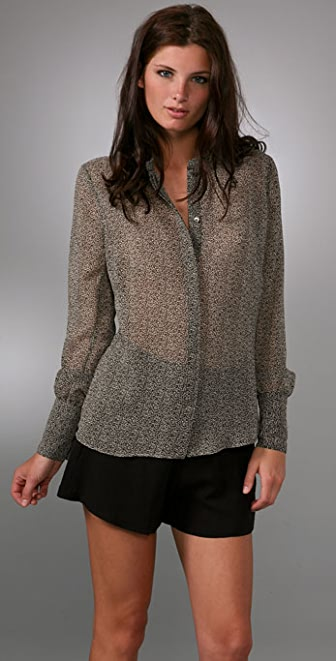 PJK Patterson J. Kincaid Jillian Fitted Blouse