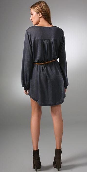 PJK Patterson J. Kincaid Lyra Belted Dress