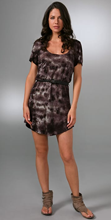 PJK Patterson J. Kincaid Olvera Belted Dress