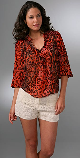 PJK Patterson J. Kincaid Egyptian Tunic Top