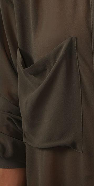 PJK Patterson J. Kincaid Harlow Long Sleeve Blouse
