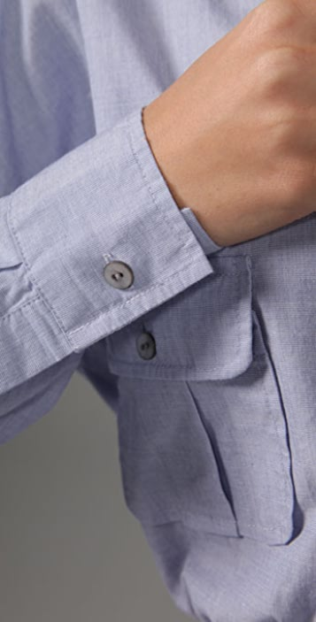 PJK Patterson J. Kincaid Blue Label Charlie Boyfriend Belted Dress