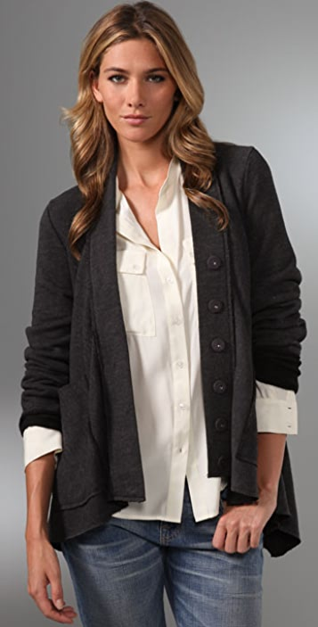 PJK Patterson J. Kincaid Queens Cardigan